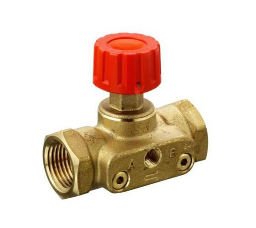 Danfoss (Данфосс) ASV-М Ручной запорный клапан с внутренней резьбой 1/2 (003L7691)